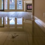 tile flooring water damage