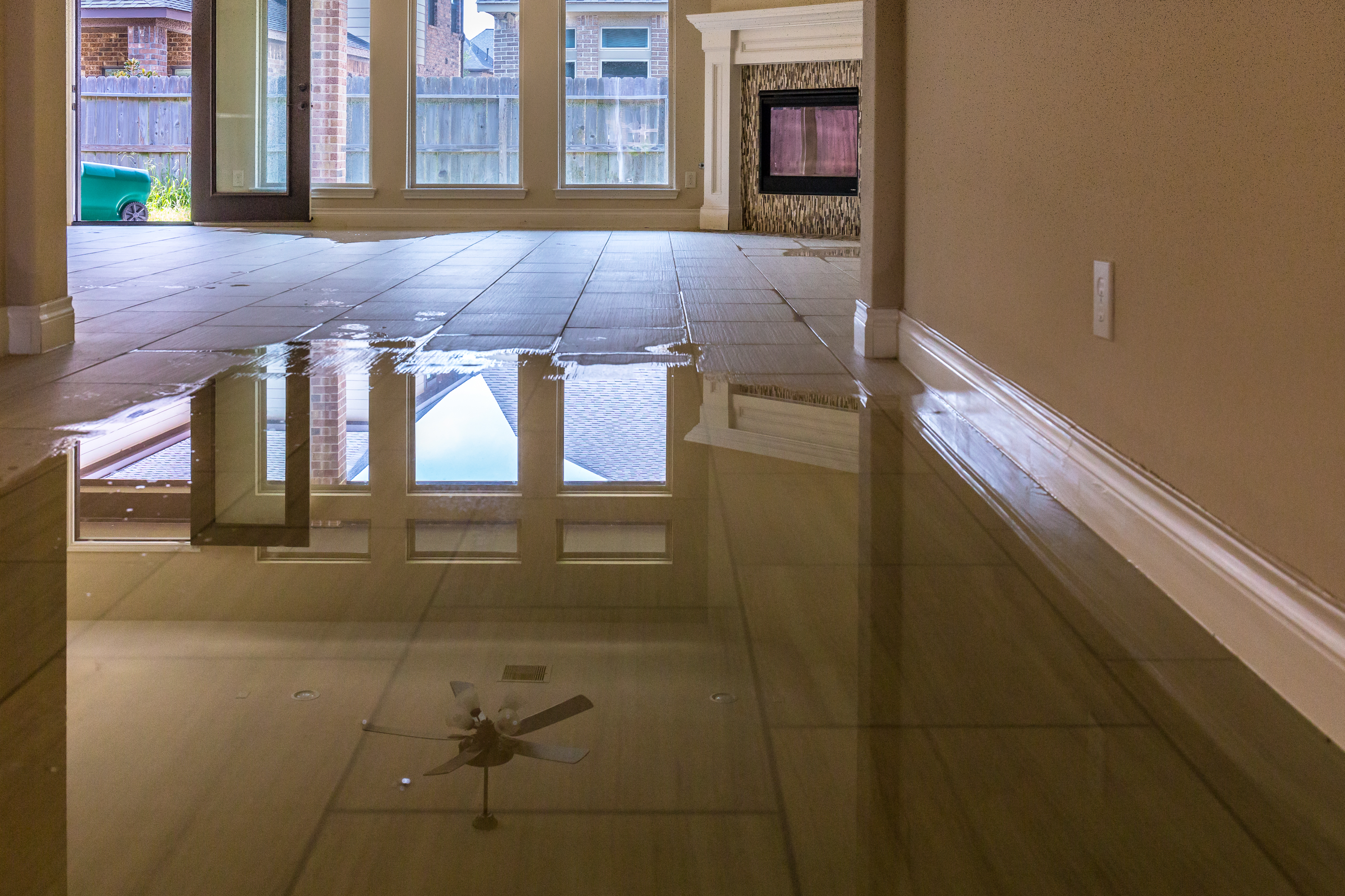 How Can Excessive Water Damage Your Tile Flooring Shamrock Restore