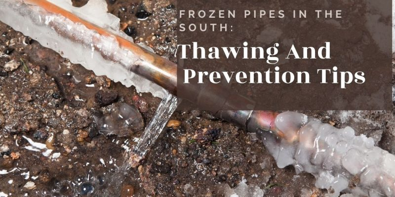 Frozen Pipes In The South_